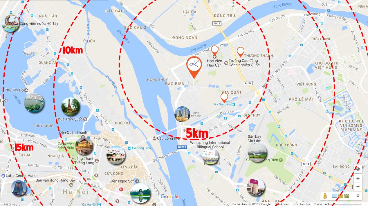 vi tri Dự án nhà ở xã hội Thượng Thanh Long Biên 1