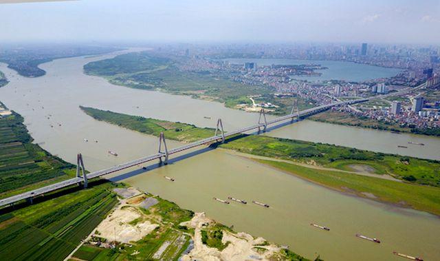 Hà Nội chuẩn bị hoàn thiện đề án quy hoạch hai bên bờ sông Hồng